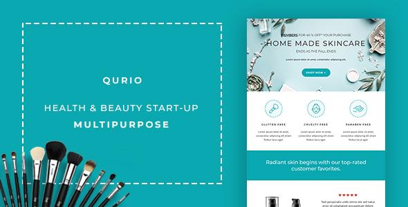 Qurio - Multipurpose Responsive Email Template