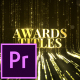 Awards Titles - Premiere Pro - VideoHive Item for Sale