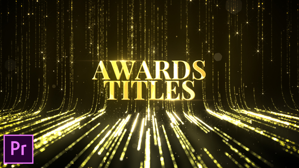 Awards Titles – Premiere Pro