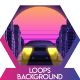 Car City Retro 2 Vj Loops Background - VideoHive Item for Sale