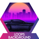 Car City Retro Vj Loops Background - VideoHive Item for Sale