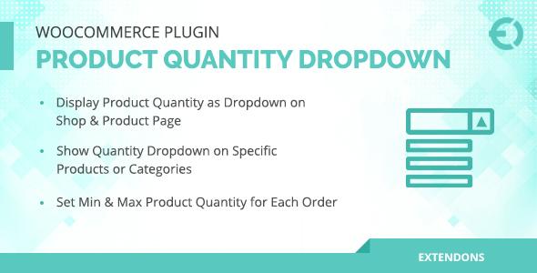 WooCommerce Product Quantity Dropdown Plugin