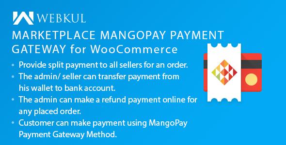 Marketplace MangoPay Payment Gateway for WooCommerce