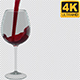 Red Wine Pouring - 4K - Alpha Channel - VideoHive Item for Sale