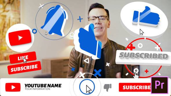 Big Youtube Subscribe Pack