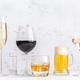 Assortment of alcoholic drinks - PhotoDune Item for Sale