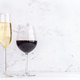 Glasses of wine and sparkling wine - PhotoDune Item for Sale