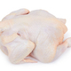 Raw fresh chicken isolated on white background - PhotoDune Item for Sale