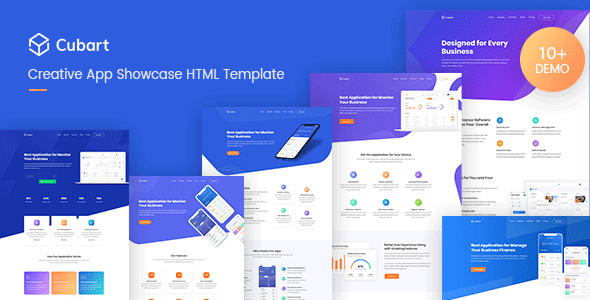 Special Cubart - Saas &Startup HTML Template