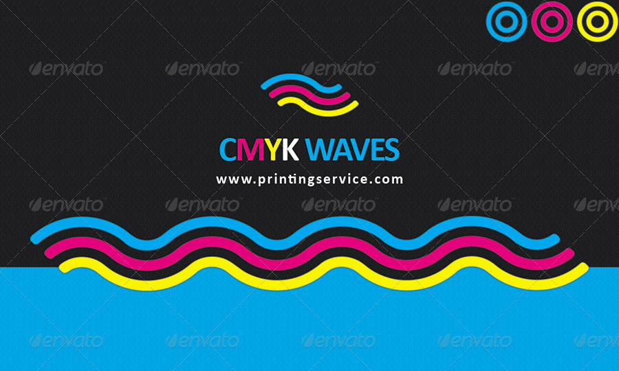 CMYK Colors Print Company Business Cards Design by joyologo ...