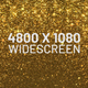 Gold Particles Widescreen Background - VideoHive Item for Sale