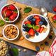 Greek yogurt granola with fresh berries - PhotoDune Item for Sale