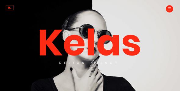 Kelas - Creative Agency Website Template