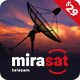 Mirasat - Internet Provider and Satellite TV WordPress Theme