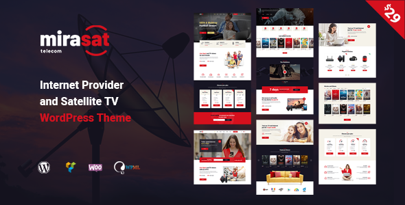 Tv Service Providers >> Mirasat Internet Provider And Satellite Tv Wordpress Theme