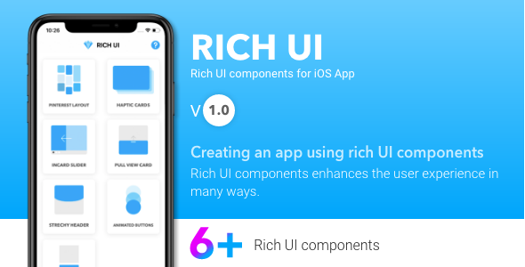 Rich UI - UI Components for iOS App