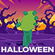 Halloween Cartoon Logo - VideoHive Item for Sale