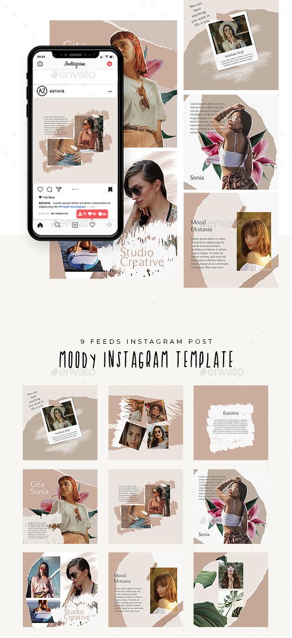 Moody Instagram Templates