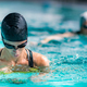 Breaststroke Swimming in the Indoor Pool. - PhotoDune Item for Sale