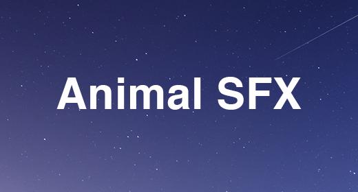 Animal SFX