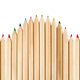 Fence made with wooden pencils - PhotoDune Item for Sale