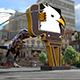 T-Rex In City - VideoHive Item for Sale