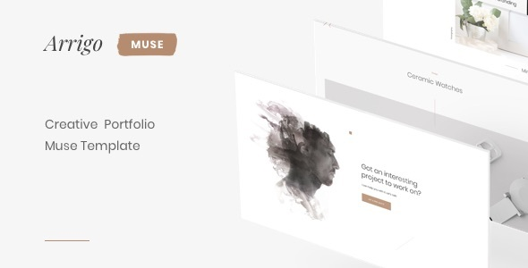 Arrigo – Creative Portfolio Clean Muse Template