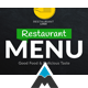 Restaurant Menu Display - VideoHive Item for Sale