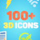 3D Animated Icons - VideoHive Item for Sale