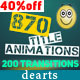 870 Title Animations - VideoHive Item for Sale