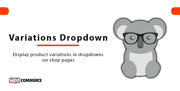 Show WooCommerce Product Variations Dropdown on Shop Page Plugin