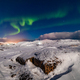 Northern Lights on the shore of the Arctic Ocean - PhotoDune Item for Sale