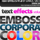photoshop text effects and styles - GraphicRiver Item for Sale