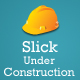 Slick Under Construction Page Template - GraphicRiver Item for Sale