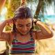 Little girl taking shower on the beach - PhotoDune Item for Sale