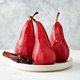 Pears poached in red wine - PhotoDune Item for Sale