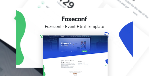 Foxeconf - Event HTML Template