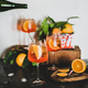 Aperol Spritz cocktail in glasses with orange slices - PhotoDune Item for Sale