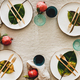 Autumn table styling or setting for holiday celebration, copy space - PhotoDune Item for Sale