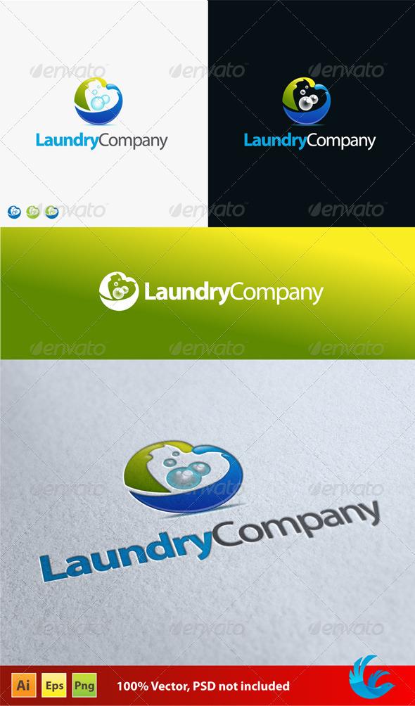 Laundry Company - Company Logo Templates