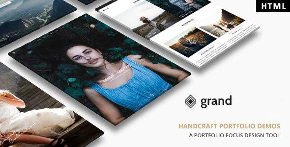 Grand Portfolio - HTML Template by max-themes