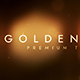 Golden Glow - VideoHive Item for Sale