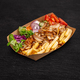 Doner kebab on a paper plate - PhotoDune Item for Sale