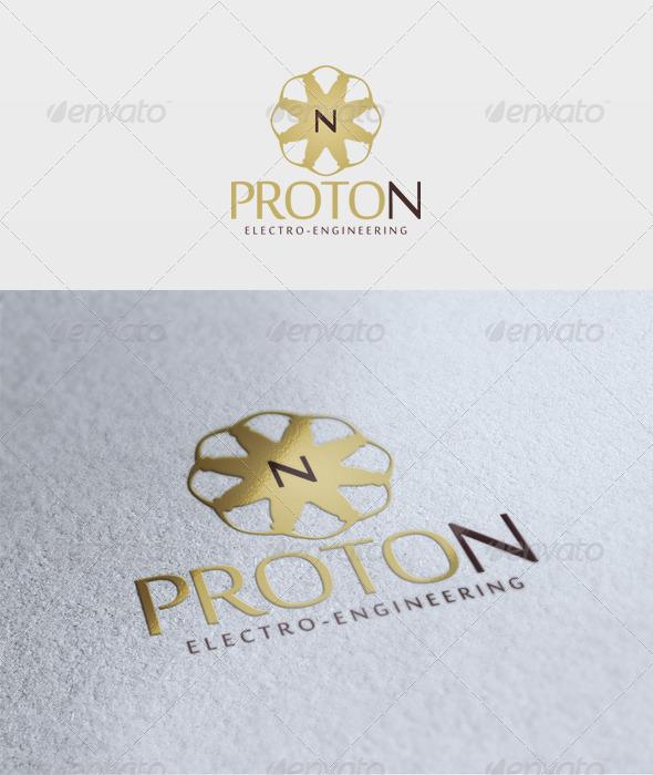 Proton Logo - Letters Logo Templates