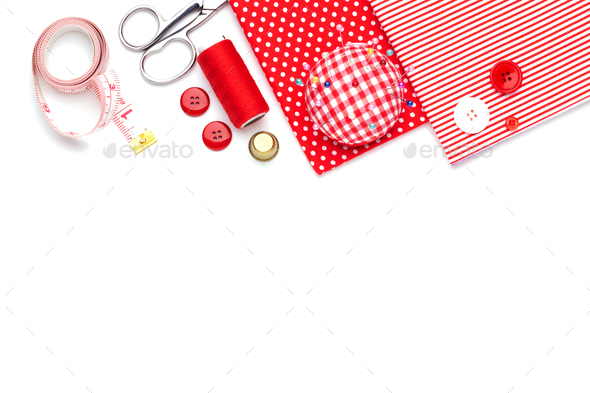 Sewing items - Stock Photo - Images