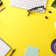 Yellow business desk - PhotoDune Item for Sale
