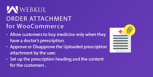 Download Medical Prescription Attachment Plugin for WooCommerce Free Nulled