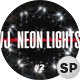 VJ Neon Circle Lights Ver.2 - 3 Pack - VideoHive Item for Sale