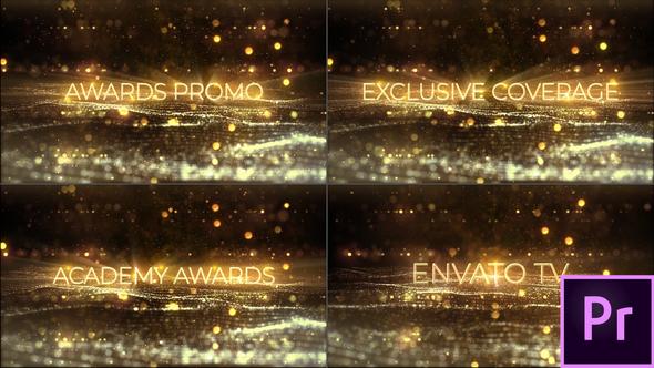 Award Show Titles – Premiere Pro