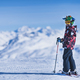Skiing Boy on a Mountain Top - PhotoDune Item for Sale